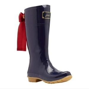 Joules | T Evedon French Navy Premium Wellies Sz 7